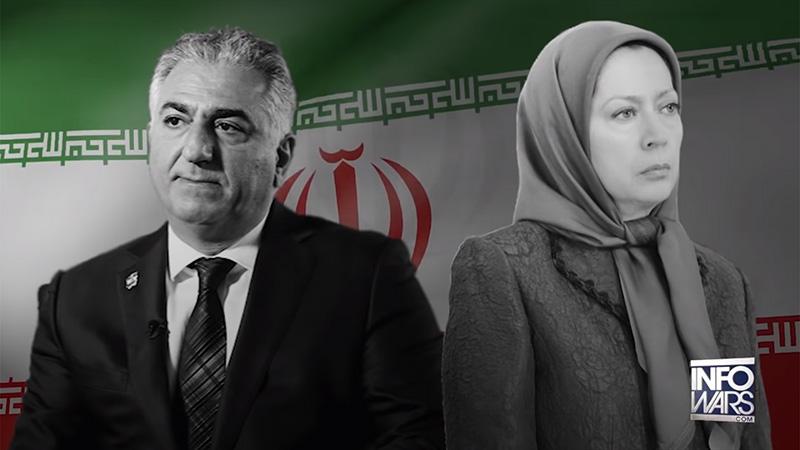 اینفووارز : مجاهدین خلق و رضا پهلوی ، دست نشانده جمهوری اسلامی ایران با خاک یکسان شدند