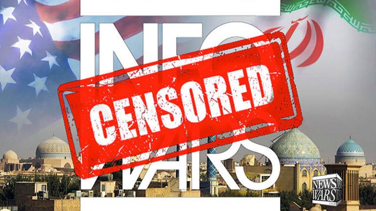 سانسور گزارش ویدیویی اینفووارز توسط رسانههای ایران در تلاش جهت مخفی کردن جنبش مردمی و پرطرفدار ری استارت