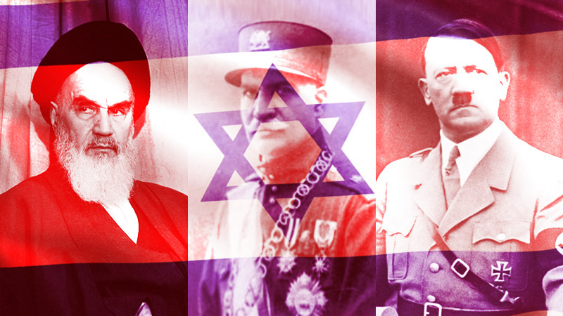 سید محمد حسینی ، لیدر اپوزیسیون ری استارت : این سه نفر ضد اسرائیل بودند : خمینی ، رضا شاه پهلوی و هیتلر