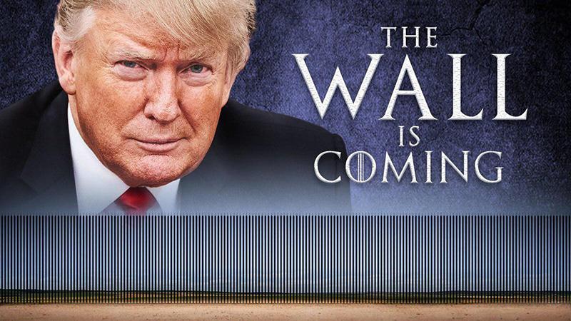 دونالد ترامپ، رئیسجمهور ایالات متحده آمریکا از ساخت دیوار در مرز جنوبی با مکزیک خبر داد