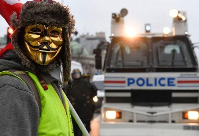 معترضان جلیقه زرد فرانسه