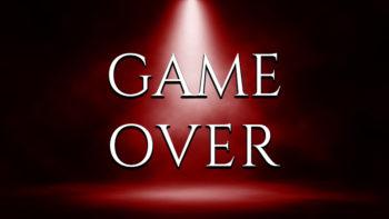 بازی تمام شد!