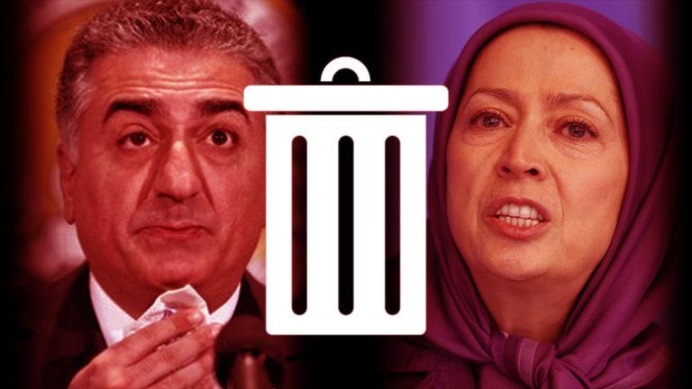 Mojahedin - Reza Pahlavi - «مایک پمپئو» وزیر خارجه آمریکا رسما اعلام کرد : حذف مجاهدین خلق و رضا پهلوی از روی میز پرزیدنت ترامپ!