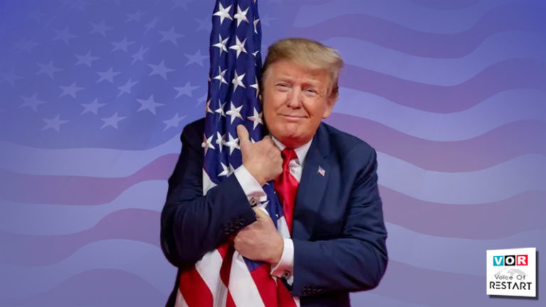 Donald Trump USA - دونالد جان ترامپ چهل و پنجمین رئیس جمهور ایالات متحده آمریکا است.