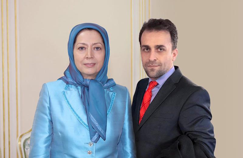 مجاهدین خلق : مریم رجوی و امیر عباس فخرآور