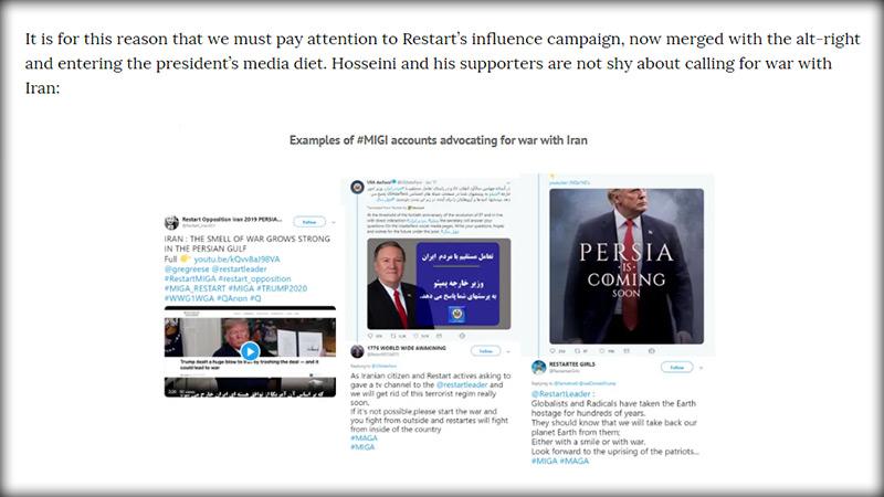 وحشت گلوبالیستها از اتحاد ریاستارت و میهن پرستان آمریکا