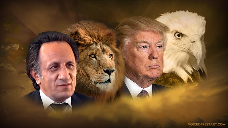 اتحاد میهن پرستان آمریکا ( دونالد ترامپ ) و جنبش ری استارت سید محمد حسینی