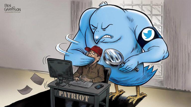 سانسور میهن پرستان جهان توسط توییتر