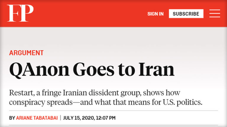 فارین پالیسی: اپوزیسیون ری استارت خطری بزرگ برای رژیم ایران و حامیان آن!