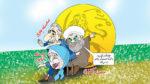 حسن روحانی رئیس جمهور ایران، لیدر ری استارت را بلاک کرد!
