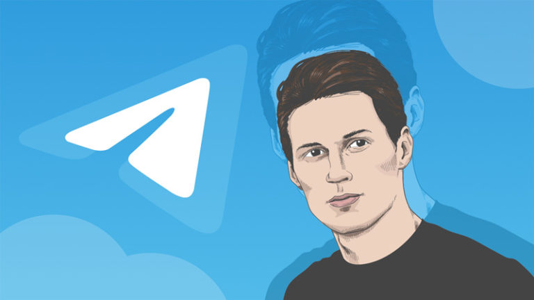 پیام لیدر ری استارت به پاول دورف، مدیر تلگرام