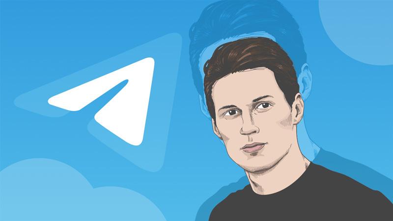 پاول دورف، بنیان گذار و مدیر پیام رسان تلگرام