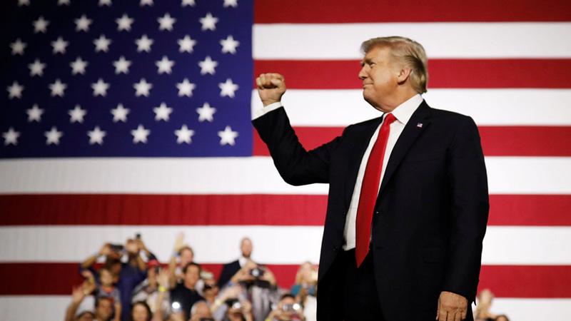 پرزیدنت دونالد ترامپ ۲۰۲۰ رئیس جمهور ایالات متحده آمریکا