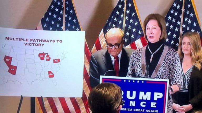 کنفرانس خبری مهم تیم حقوقی پرزیدنت ترامپ در ارتباط با تقلب بیسابقه در انتخابات
