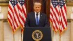 آخرین سخنرانی دونالد ترامپ به عنوان چهل و پنجمین رئیس جمهور ایالات متحده آمریکا