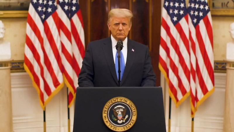 سخنرانی پرزیدنت دونالد ترامپ چهل و پنجمین رئیس جمهور ایالات متحده آمریکا در 19 ژانویه 2021