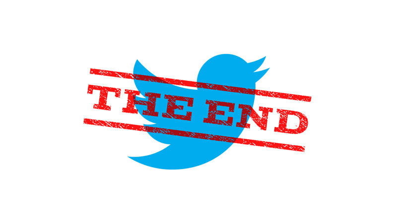 پایان توییتر و خداحافظی با توییتر