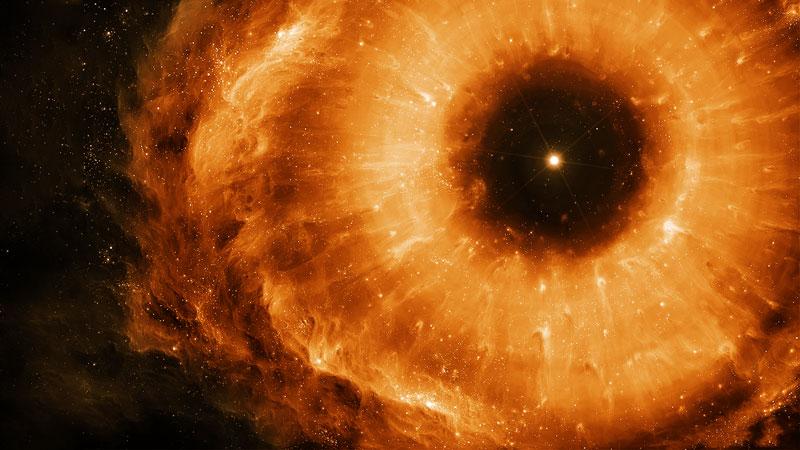 چشم سیاه چاله جهان کهکشان