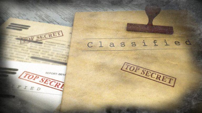 اسناد و اسرار محرمانه طبقه بندی داده ها