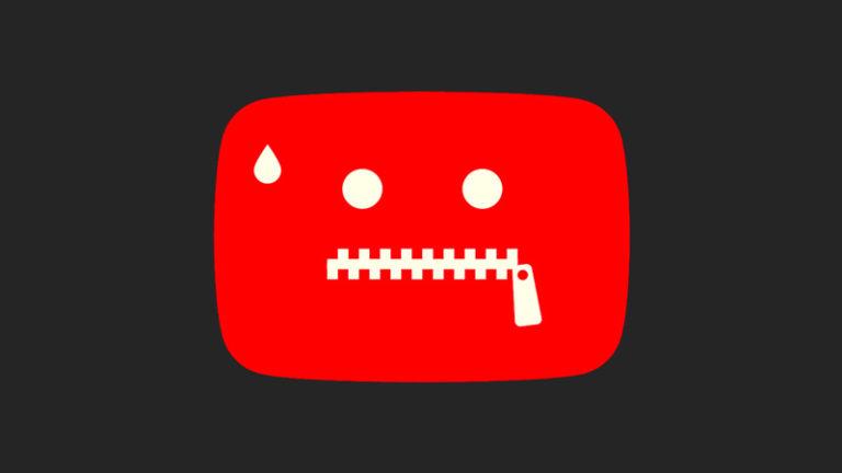 سانسور شدید یوتیوب