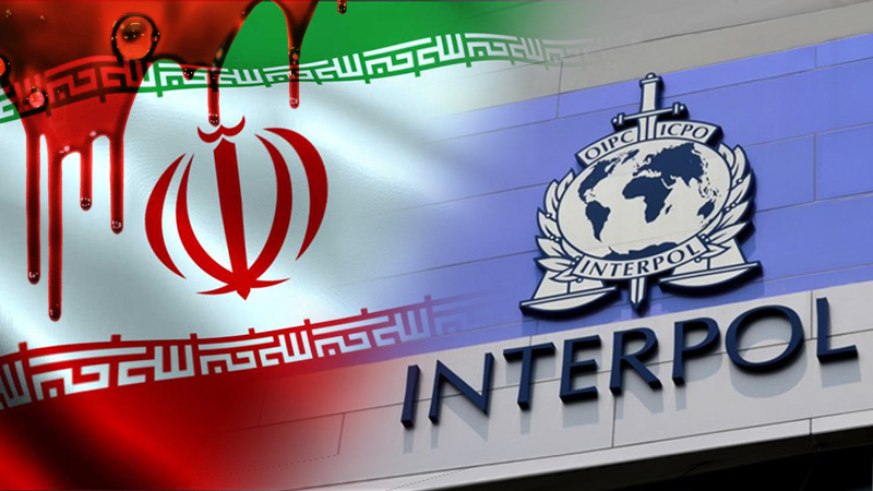 Iran's terrorist regime calls on Interpol to arrest RESTART Leader