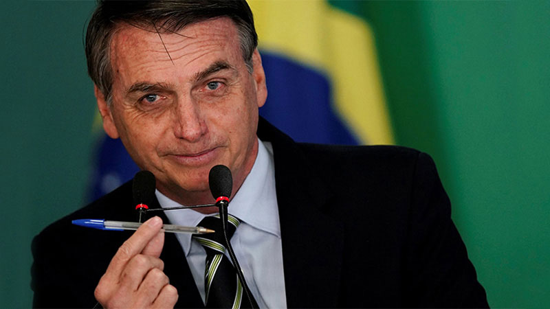 Jair Bolsonaro President of Brazil signs decree loosening gun ownership rules