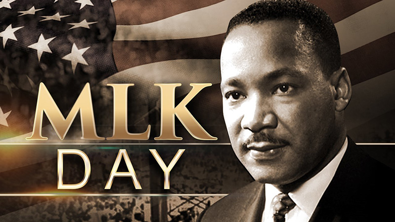 Martin Luther King Jr Day - USA - Martin Luther King Jr. (January 15, 1929 – April 4, 1968) was an American Baptist minister and activist who became the most visible spokesperson and leader in the civil rights movement from 1954 until his assassination in 1968.