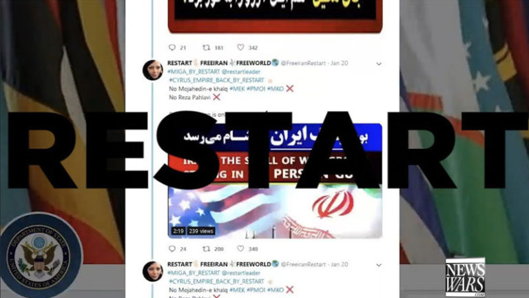 ISLAMIC TROLL FACTORIES BLAMED FOR RESTART'S RESPONSE TO SECSTATE POMPEO
