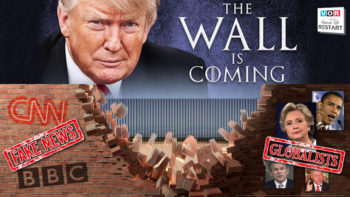 TO BUILD A WALL, HAVE TO RUIN TWO WALLS