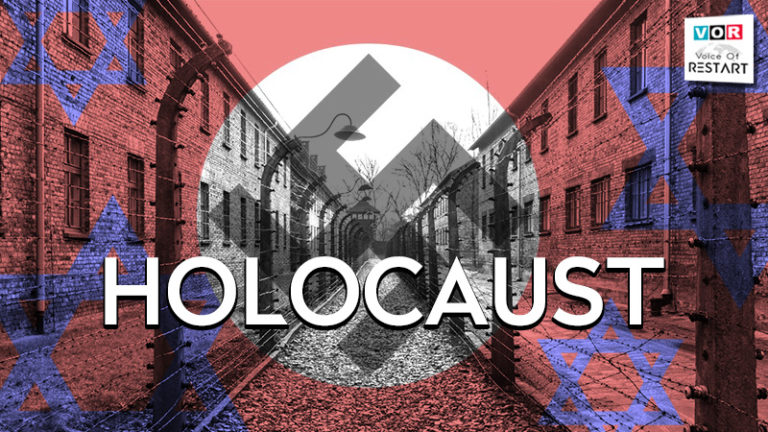 The Holocaust, also referred to as the Shoah, was a genocide during World War II in which Nazi Germany, aided by its collaborators, systematically murdered some six million Jews, around two-thirds of the Jewish population of Europe, between 1941 and 1945.
