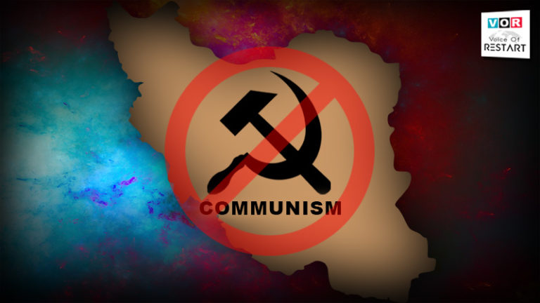 """Seyed Mohammad Hosseini ( RESTART LEADER ): Communism is an unfortunate disease & has no place in the future of Persia, for Communism has already killed millions for the same """"justice""""."""
