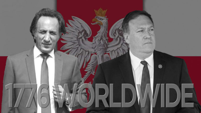 RESTART - Seyed Mohammad Hosseini - 1776 WORLDWIDE - INFOWARS - Mike Pompeo - WARSAW - RESTART IRAN, NON-VIOLENT REVOLUTIONS AND THE MYSTERIOUS WARSAW SUMMIT