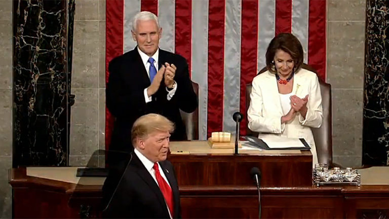 RESTART LEADER'S OPINION ON PRES. TRUMP'S ANNUAL SPEECH
