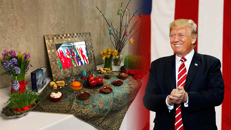 President Trump's message on Nowruz 2019 - The US State Department's Haft-Seen setting to welcome Persian new year, Nowruz.