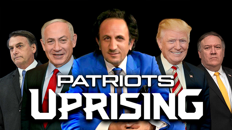 PATRIOTS UPRISING - DONALD TRUMP - Mike Pompeo - Benjamin Netanyahu - Jair Bolsonaro - RESTART LEADER, Seyed Mohammad Hosseini: Globalists and Radicals have taken the Earth hostage for hundreds of years. They should know that we will take back our planet Earth from them; Either with a smile or with war. Look forward to the uprising of the Patriots in the world.