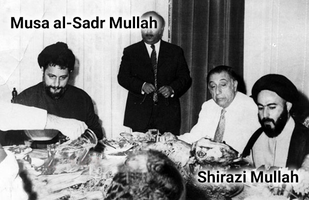 Musa al-Sadr and Sadiq Shirazi Mullah