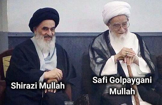 Sadiq Shirazi and Safi Golpaygani Mullah