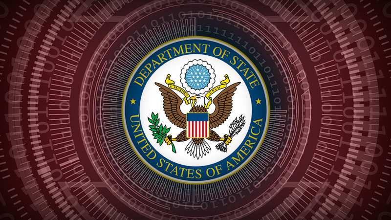 THE WEBSITE AND SOCIAL MEDIA ACCOUNTS OF THE U.S. DEPARTMENT OF STATE IN THE CONTROL OF THE GLOBALISTS