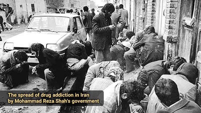 The spread of drug addiction in Iran by Mohammad Reza Shah's government