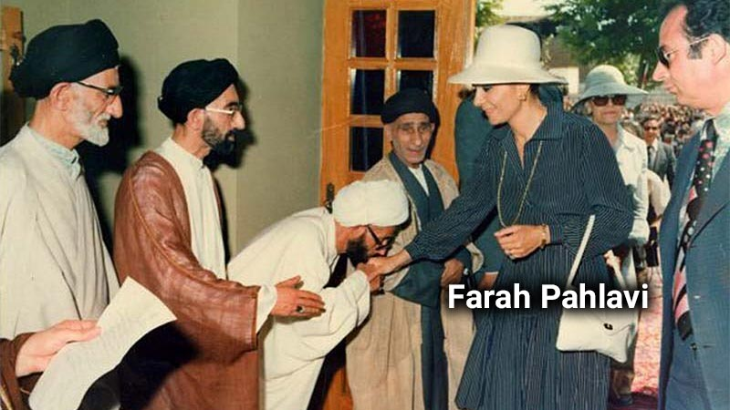 Farah Pahlavi Diba midwifed mullahs