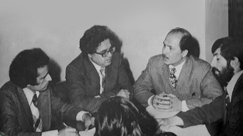Members of Farah Diba's office and her top advisers in the months leading up to the 1979 Revolution