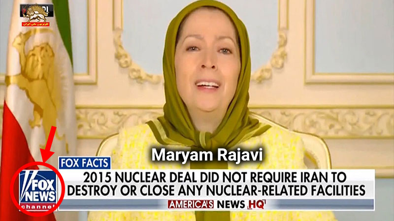 Fox News - Maryam Rajavi terrorist organization Mujahedin-e Khalq ( MEK )