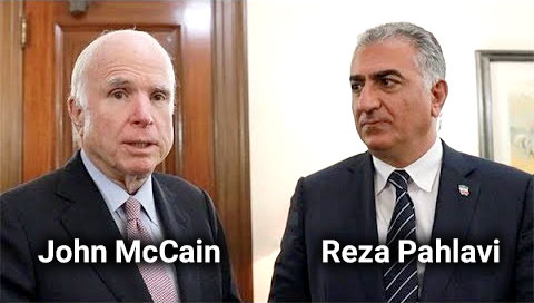 John McCain - Reza Pahlavi