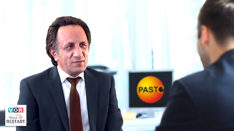 Pasto News interview with Seyed Mohammad Hosseini and replying to the questions from the public