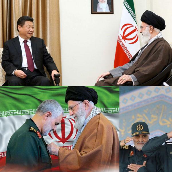 Khamenei - Soleimani - Xi Jinping, Chinese President