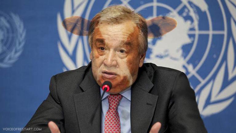 U.N. Secretary-General Antonio Guterres: we were stupid, we apologize!
