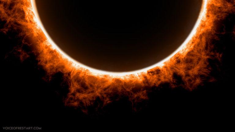 sun eclipse (Corona virus or COVID-19)