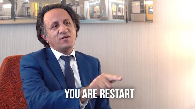 Trailer: Infowars interview with RESTART Leader