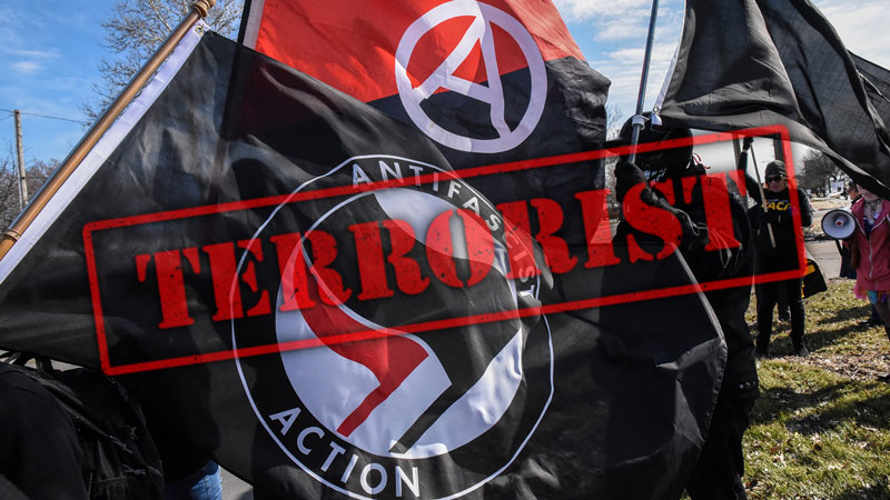 Who are behind Antifa?