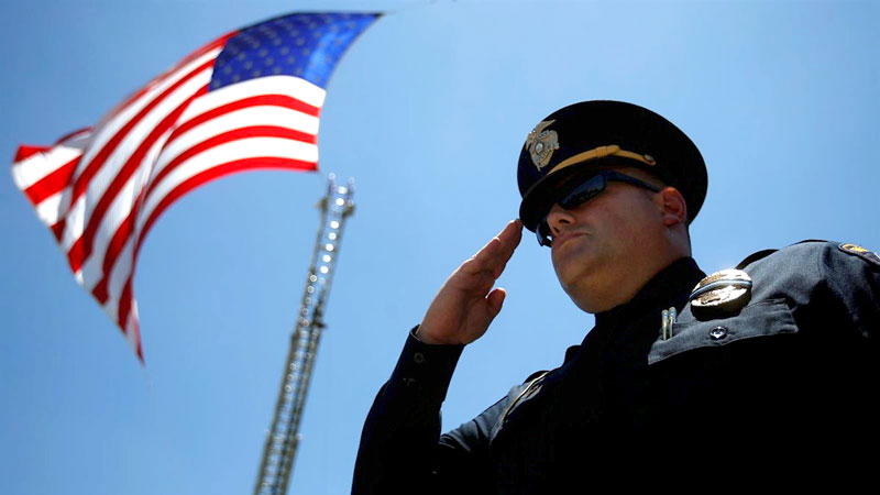 Weakening the police force means the beginning of the disintegration of America
